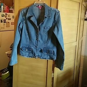 Cool Jean Jacket with my designs